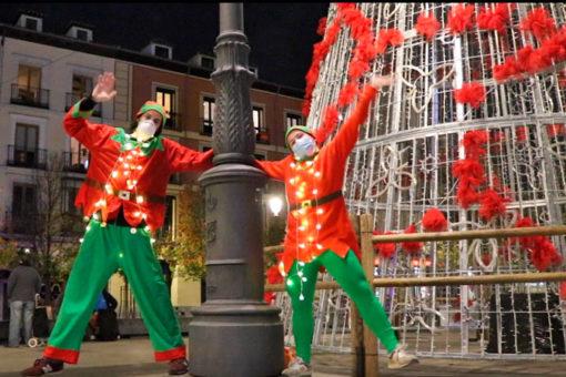 la caza de los elfos con actores en madrid